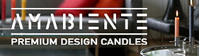 amabiente premium design candles france.