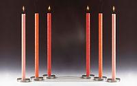 rondo amabiente bougies chandelles  rond