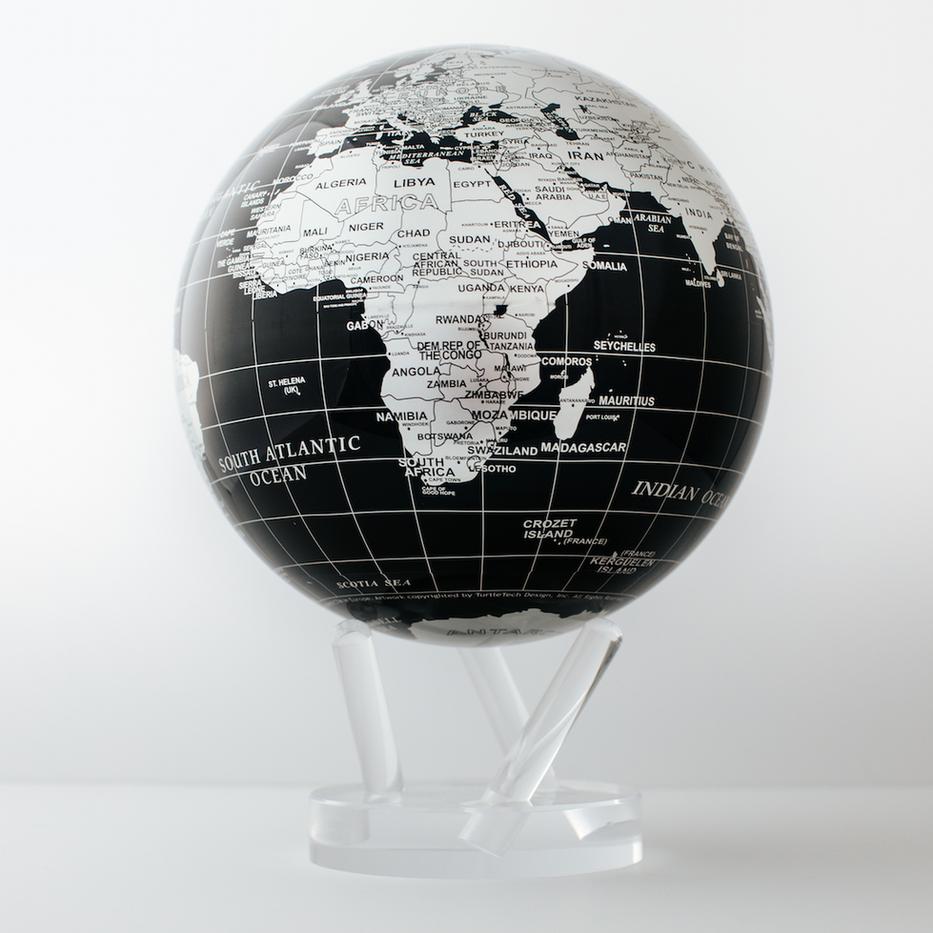 globe terrestre Magiclglobe Noir et Arge