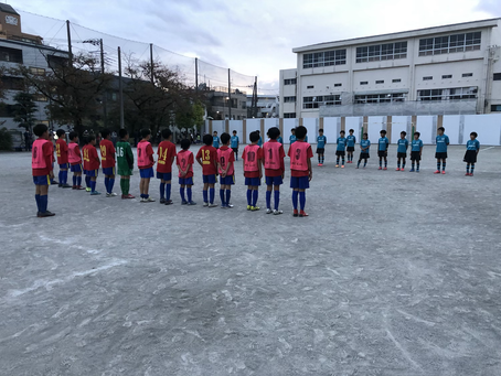 11/1 U-12トレーニングマッチ