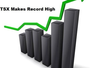 """EQUITIES COMMENT - """" TSX Makes Record High - Are More Advances Ahead?"""""""