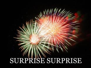"""EQUITIES COMMENT – """"Surprise Surprise"""""""