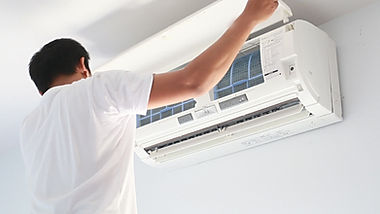 Maintenance of air conditioning system