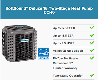Heat Pump two stage equipment