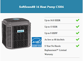 16 SEER single stage ac and heat pump equipment
