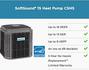 15 SEER AC Unit Comfortmaker Softsound