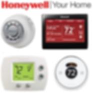 Honeywell HVAC Digital Thermostats