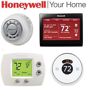 Honeywell HVAC Digital Thermostats