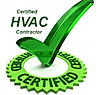 HVAC certified checkmark