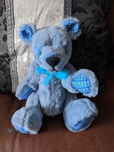 "Ooak Artist bear ""NHS"" bear"