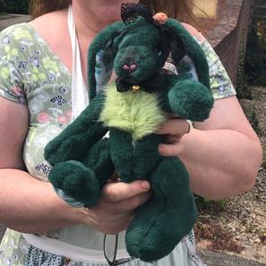 """Ooak artist bear """"Mary"""" the bunny"""