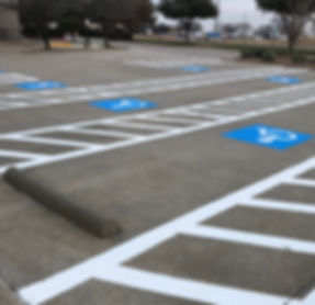 ADA Compliance Parking in Irving, Texas