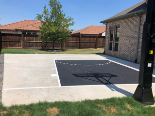 Let the Kings Create Your Residential or Commercial Sports Court!