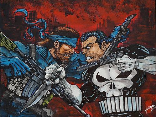 Snake vs. Punisher