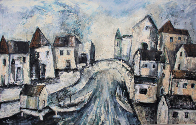 「河のある街」