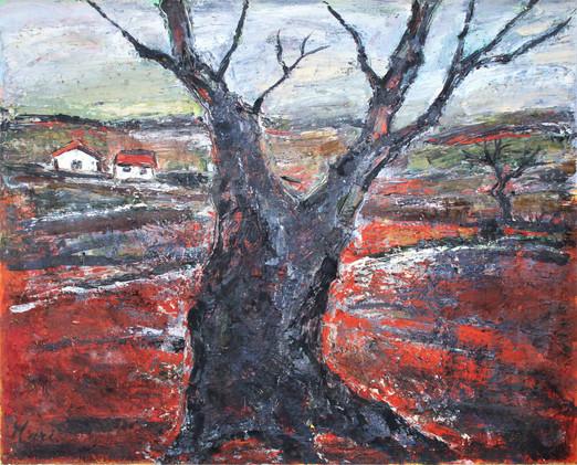 「立木のある風景」