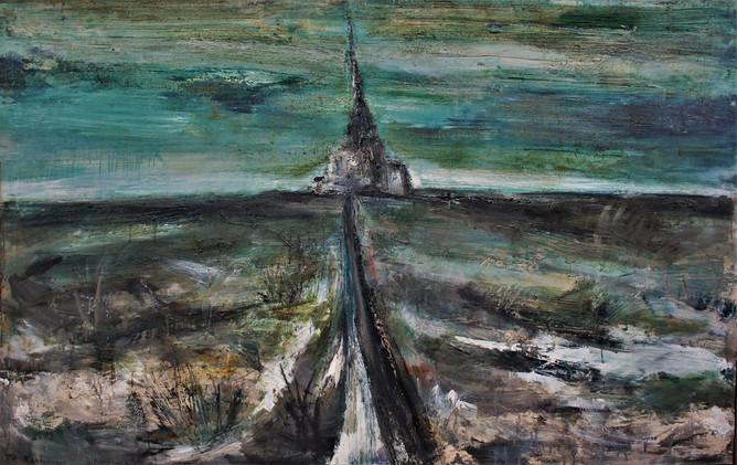 「塔への道」