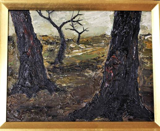 「木のある風景」