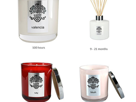 Save up to 30% with UAINE Candles Bundles