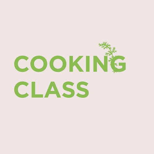 Voucher Cooking Class