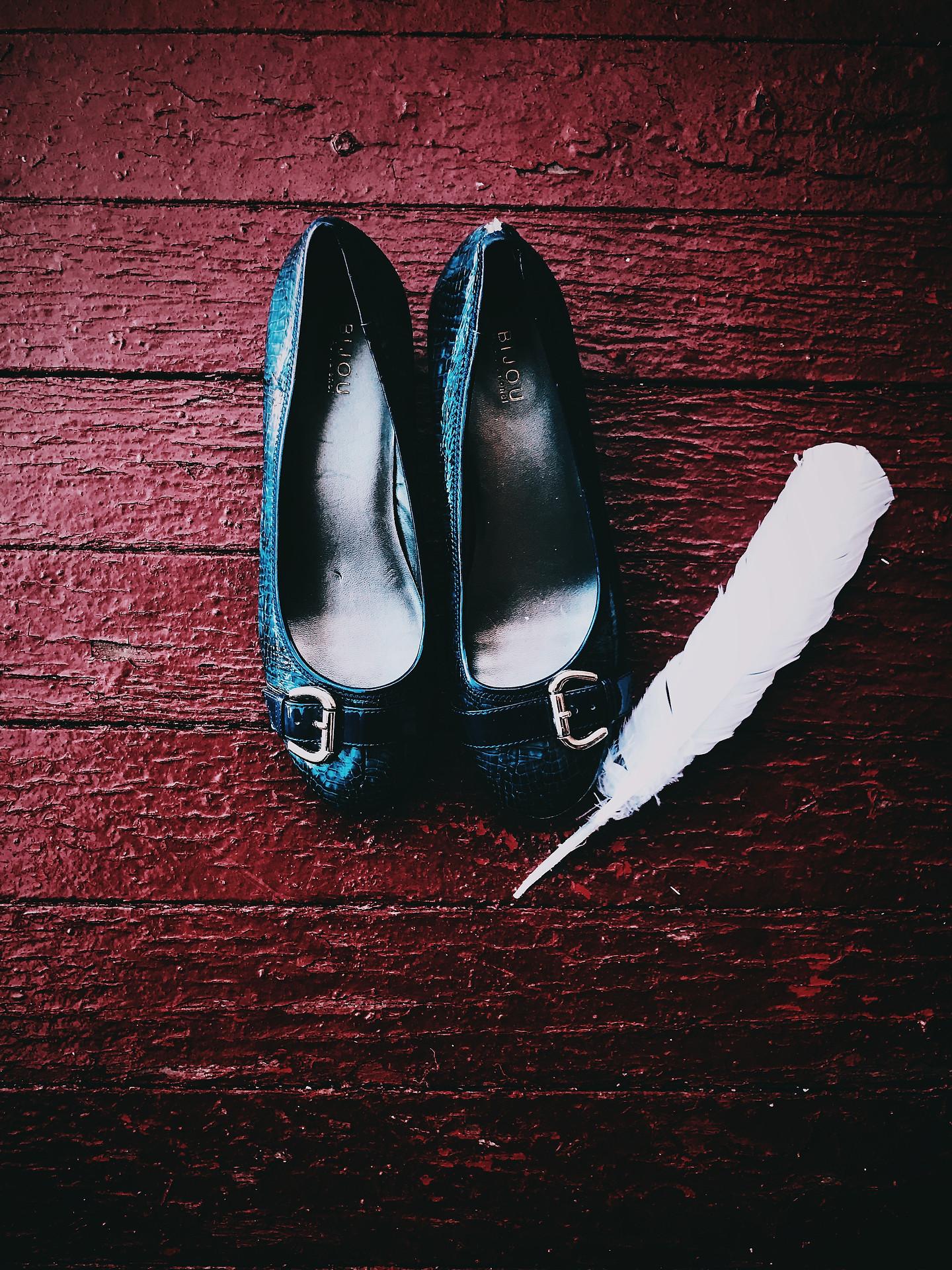 Those Blue Shoes