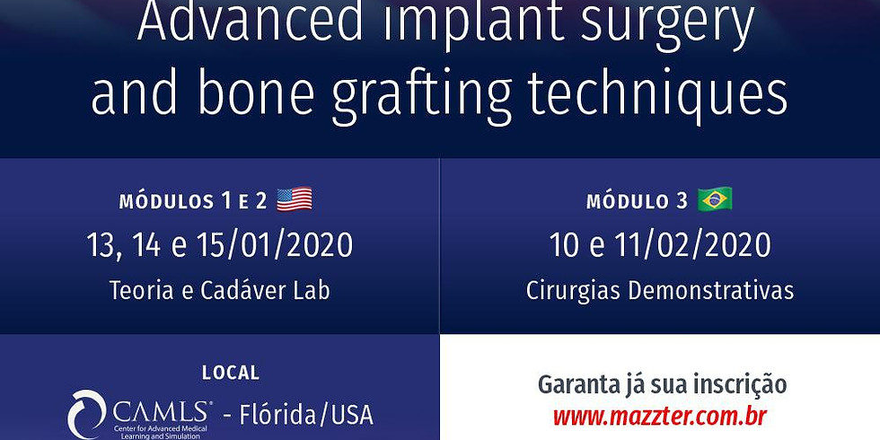 Advanced implant surgery and bone grafting techniques