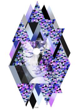 Tercer Ojo Prismas Violetas