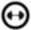 dumbbell-the-black-color-icon-in-circle-