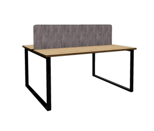 Clayborne 2 Pack Benching with Divider Panel