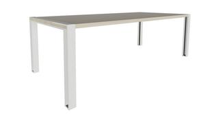 Lowe Loop Post Leg Meeting Table