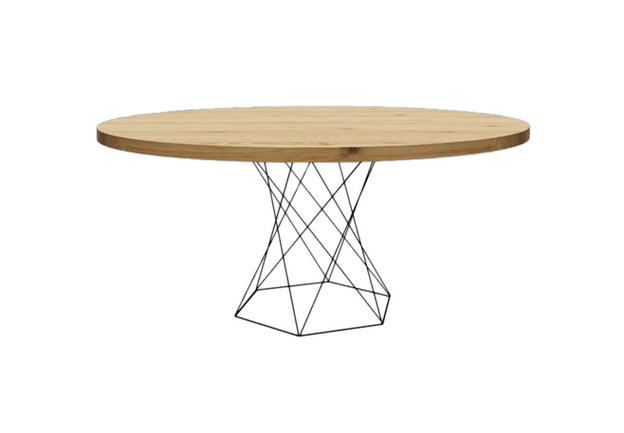 Clayborne Wire Base Coffee Table