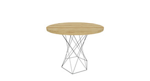 Clayborne Wire Base Side Table