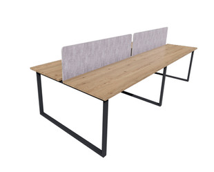 Clayborne 4 Pack Benching with Divider