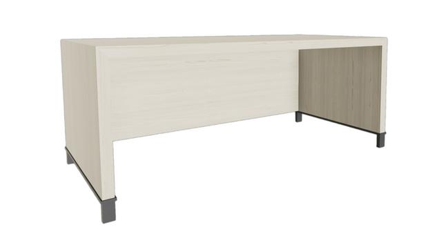 Clayborne Desk w/ Full Modesty Panel