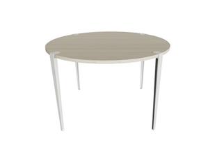 Ellis T Leg Round Meeting Table
