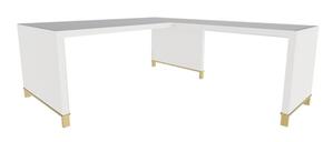 Clayborne Desk w/ Return, No Modesty Panel and Open Support