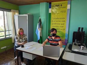 Ibarra se reunió con el Coordinador del Consejo Escolar
