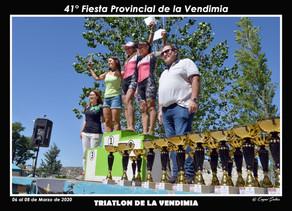 Expectativas superadas en el Triatlón y Torneo de Padel en adhesión a la Vendimia