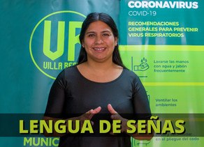 La Dirección de Comunicación municipal incorporó la LSA (Lengua de Señas Argentina) como recurso