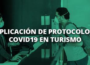 Charla virtual sobre aplicación de protocolos Covid-19 en turismo