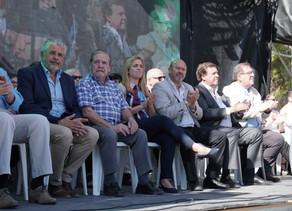 Emotivo acto por el 95° Aniversario de Villa Regina