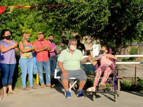 Barrio El Sauce cuenta con una plaza inclusiva