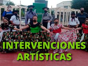 Intervenciones artísticas durante todo noviembre