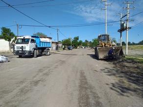 Continúa la limpieza en barrios de Regina