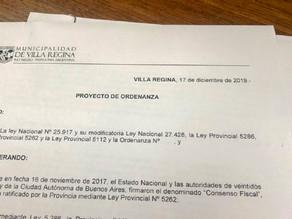 El Municipio de Villa Regina en emergencia económica con una deuda de 140 millones de pesos