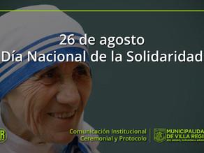 En conmemoración al nacimiento de la Madre Teresa de Calcuta