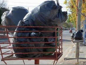 Recolección de residuos durante el feriado