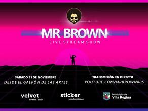 Ciclo de streaming: 'Mr Brown', el sábado