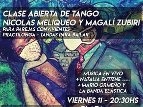 Clase abierta en el marco del Día Nacional del Tango