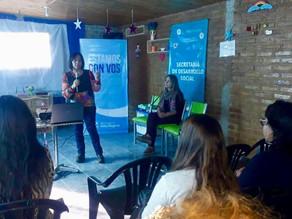 Con más de 40 participantes comenzaron los talleres de Desarrollo Social en barrio La Unión